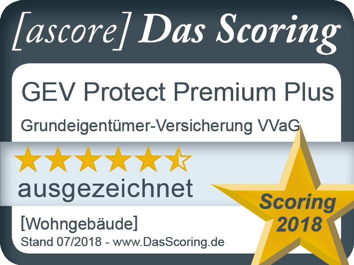 Siegel_ ProduktScoring 2018_ GEV_ Wohngeba¦êude_Premium Plus_ Gu¦êltig bis ...