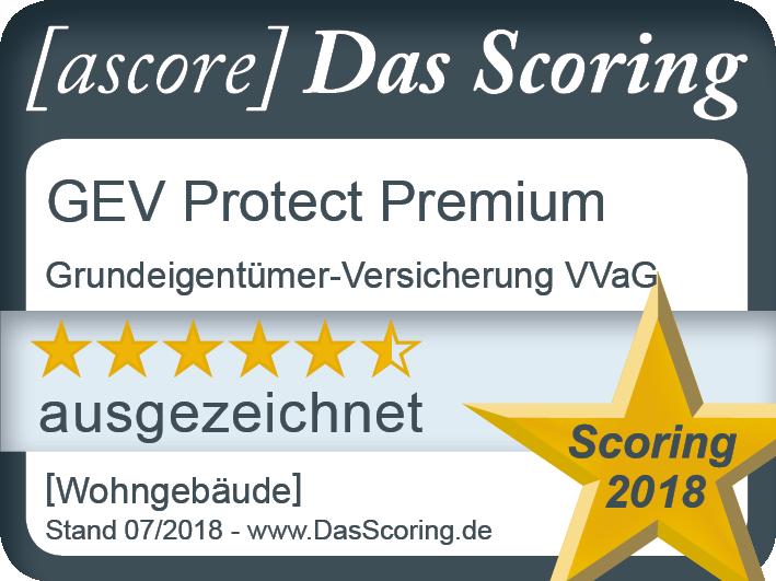 Siegel_ ProduktScoring 2018_ GEV_ Wohngeba¦êude_ Premium_ Gu¦êltig bis 06.20...